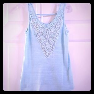 Embellished Knit Tank